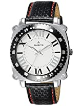 Aveiro Analog White Dial Men's Watch - AV113TL_WHT