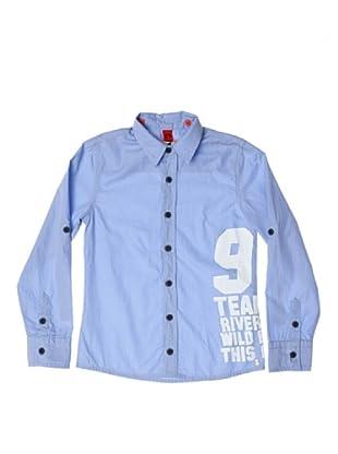 CKS Camisa Stripe (Azul)