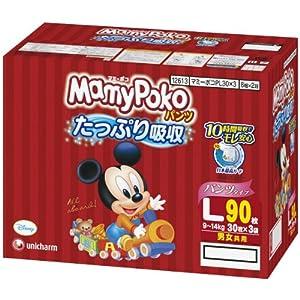 マミ-ポコ パンツ Lサイズ 30枚×3袋 (90枚入)