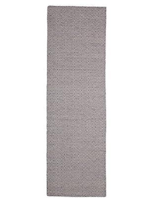Darya Rugs Flat-weave Oriental Rug, Purple, 2' 6