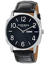 Akribos XXIV Amazon Exclusive Men's AK801BU Japanese Quartz Black Watch