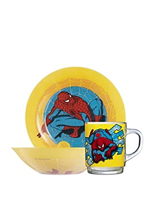Set 3 Piezas Modelo Spiderman Comic
