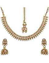 Dishi imitation jewellery antique necklace set earrings extra ordinary Charm jewellery set for Women