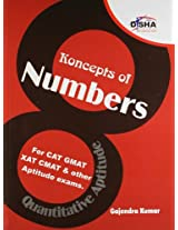 Koncepts of Numbers for CAT, GMAT, XAT, CMAT, IIFT & Other Aptitude Tests: For CAT, GMAT, XAT, CMAT and Other Aptitude exams (Old Edition) (Old Edition)