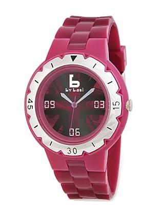 BY BASI A0991U03 - Reloj Unisex movi cuarzo correa policarbonato fucsia