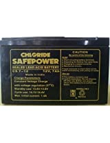 Chloride 12V 7AH CS7 SMF UPS Solar Battery
