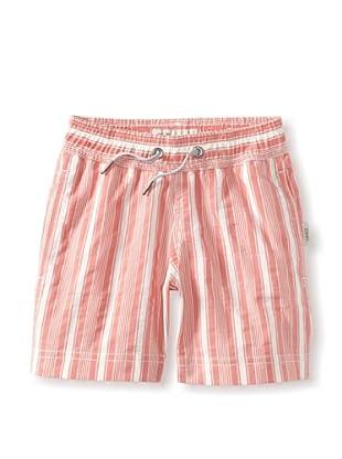 Onia Boy's Charlie Trunks (Red/White Stripe)