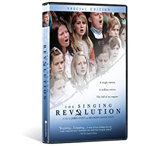 Singing Revolution. DVD.