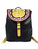 Chumbak Black Casual Backpacks (CCBWBGBPAF7B1PN)