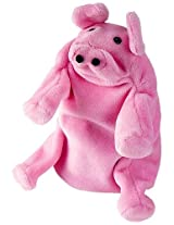Hape Hand Glove Puppet Pig, Multi Color