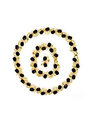 Fashion Victim Conjunto Zirconium dorado