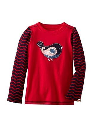Hatley  Camiseta Platea (Rojo / Marino)