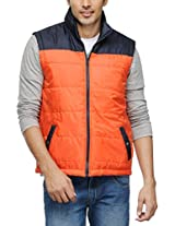 Yepme Men's Polyester Jacket (YPMJACKT0034_Blue_Large)