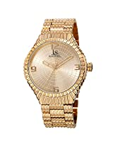 Joshua & Sons Men's JS99YG Analog Display Japanese Quartz Gold Watch
