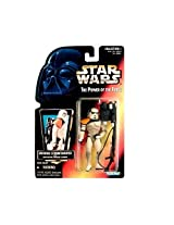 1996 Hasbro Star Wars The Power of the Force Tatooine Stormtrooper Red Card