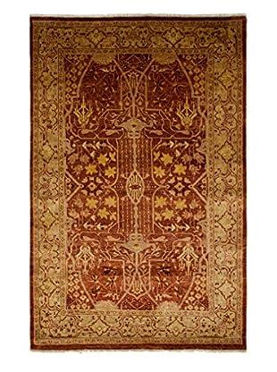 Darya Rugs Ottoman Oriental Rug, Rose, 5' 2