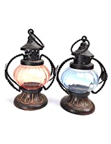 Set of 2 home décor tea light candle holder
