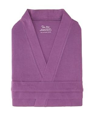 Pure Fiber Organic Knit Bathrobe (Purple)