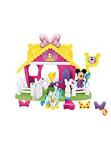 Fisher-Price Disney Minnie Jump 'n Style Pony Stable
