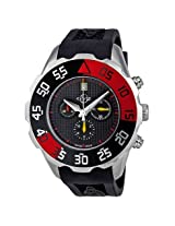 Gv2 By Gevril Parachute Chronograph Rubber Date Men'S Watch - Ger3003R