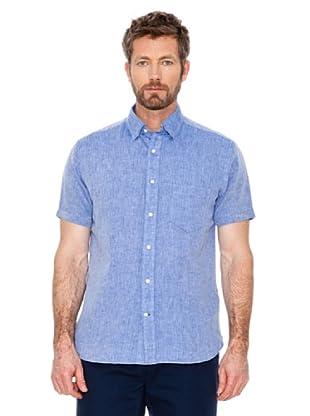 Cortefiel Camisa Lino (Azulón)
