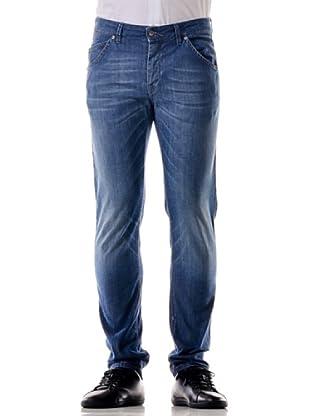 Re-Hash Pantalón Vaquero Romano (Azul)