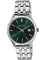 Caravelle New York  Dress Analog Green Dial Men's Watch - 43B130