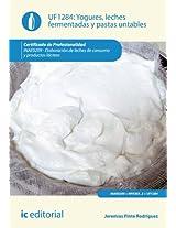 Yogures, leches fermentadas y pastas untables. INAE0209