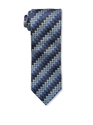Missoni Men's Zigzag Tie, Black/Blue