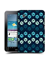 Head Case Blues Paw Back Case Cover For Samsung Galaxy Tab 2 7.0 P3100 P3110