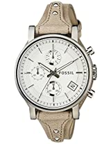 Fossil Original B Analog Silver Dial Women's Watch - ES3625