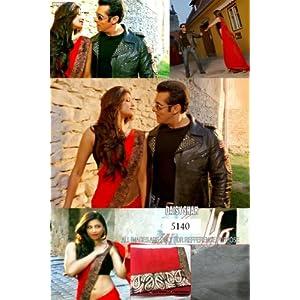 Jai Ho Maroon Bollywood Designer Saree