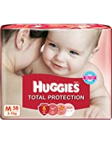 Huggies Total Protection Diapers Medium 5 to 11kg