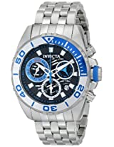 Invicta Analog Black Dial Men's Watch - 14724