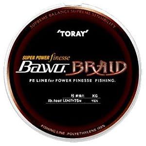 【クリックで詳細表示】東レ(TORAY) BAWO パワーフィネスブレイド PE0.8号