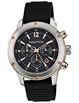 Nautica Chronograph Black Dial Men's Watch - NTA17654G