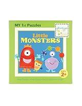 Jill McDonald Kids First Puzzles, Little Monsters