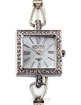 Exotica Ladies Silver Square Watch (EFL-07_SQ)