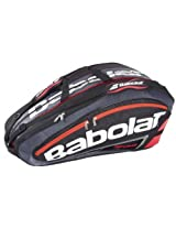Babolat 751038-189 X 12 Team Line Racquet Holder (Black/Fluo/Red)