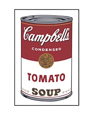McGaw Graphics 2650FR Campbell's Soup I Tomato 1968 Framed Print by Andy Warhol