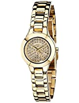 Dkny Analog Gold Dial Women's Watch - NY8692