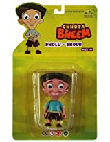Chhota Bheem Dholu Bholu action figure in Green