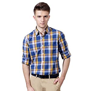 Allen Solly Checked Casual Full Sleeved Shirt