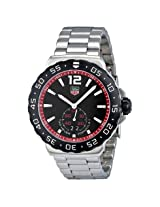 Tag Heuer Formula 1 Black Dial Steel Men'S Watch - Thwau1114Ba0858