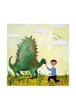 "Cici Art Factory Dino, 16""x 16"""