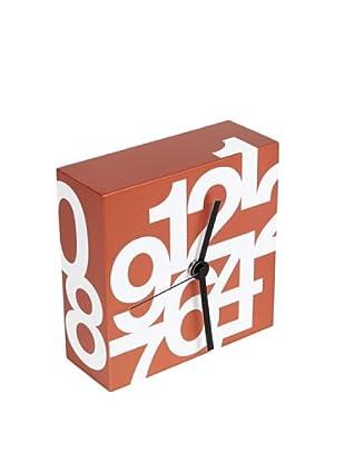 Nava Design Orologio Time (Arancione)