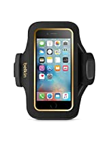 Belkin Sports Armband Case for iPhone 6 & 6S - Retail Packaging - Black