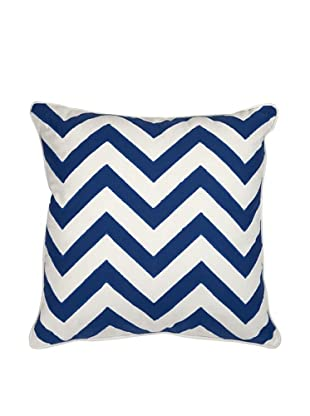 Essentials Cotton Pillow, Marine Blue