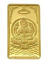 TBZ - The Original 25 gm, 24k(999) Yellow Gold Laxmi Precious Coin
