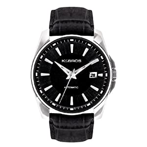 K&BROS Men's 9474-1 Le Meccaniche Automatic Classic Watch